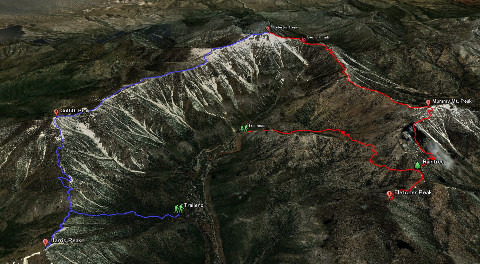 5 Peaks in 1 Day 08/12/2012 on